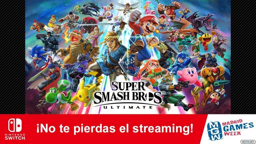 Super Smash Bros. Ultimate Nintendo Switch Madrid Games Week