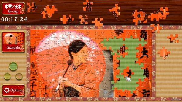 Análisis Animated Jigsaws Japanese Women 01