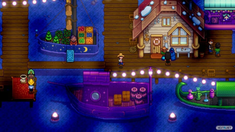 Stardew Valley Night Market