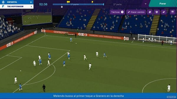 Football Manager Touch 2019 análisis Nintendo Switch