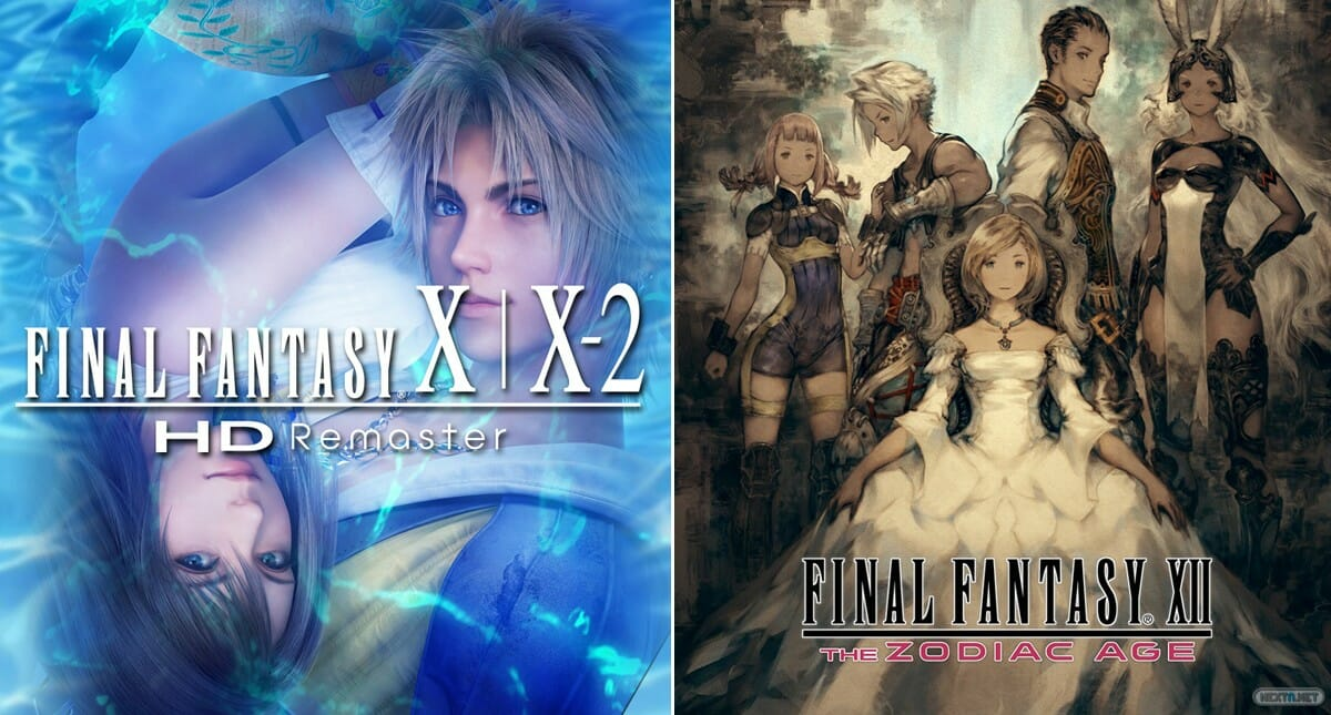 Final Fantasy X X2 XII