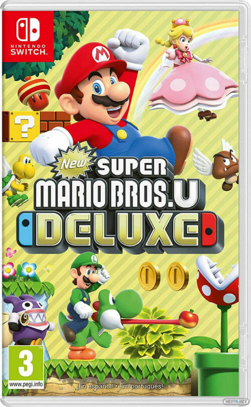New Super Mario Bros. U Deluxe boxart