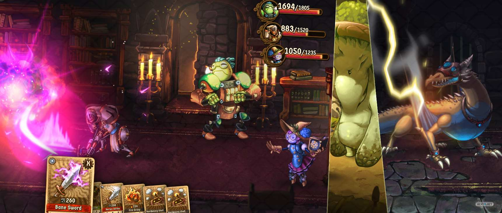 SteamWorld Quest: Hand of Gilgamech Nintendo Switch