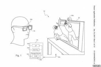 Nintendo 3D Eye Tracking
