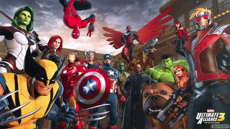 Marvel Ultimate Alliance 3 The Black Order