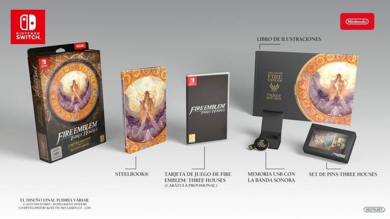 Fire Emblem: Three Houses Fecha de Salida Edición Limitada Nintendo Switch