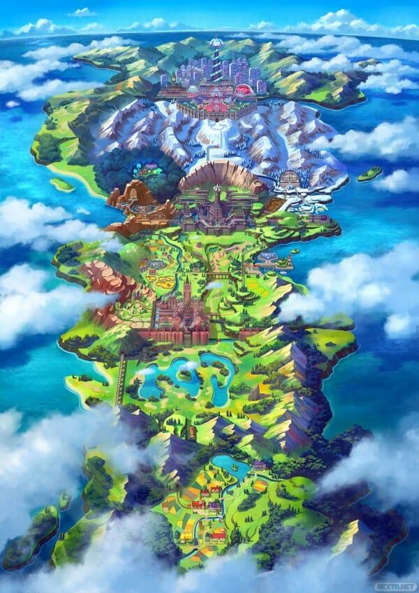 Pokémon Espada Pokémon Escudo Galar