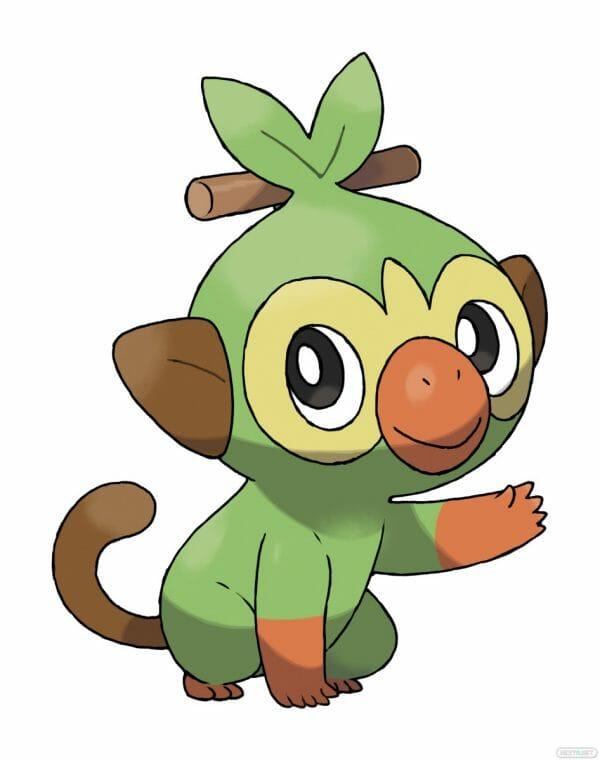 Pokémon Espada y Escudo Grookey Ouistempo Chimpep