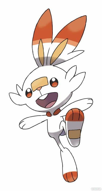 Pokémon Espada y Escudo Scorbunny Flambino Hopplo