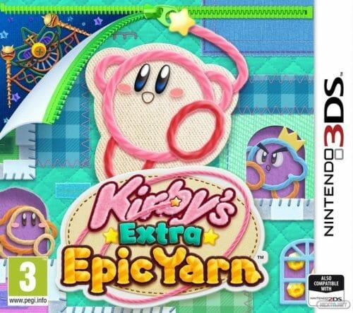 Kirby's Extra Epic Yarn Portada