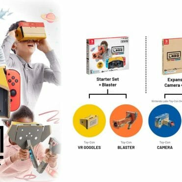 Nintendo Labo Toy-Con 04 VR Kit Nintendo Switch