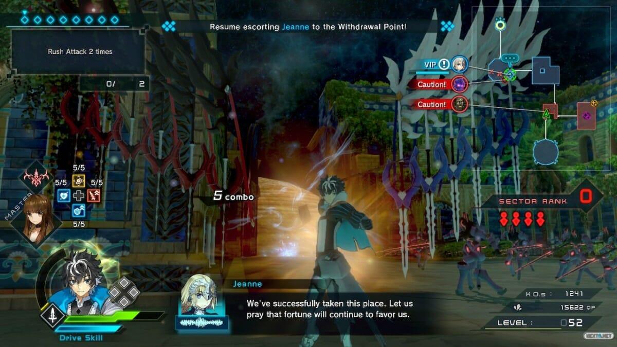 Fate Extella Link Analisis Nintendo Switch