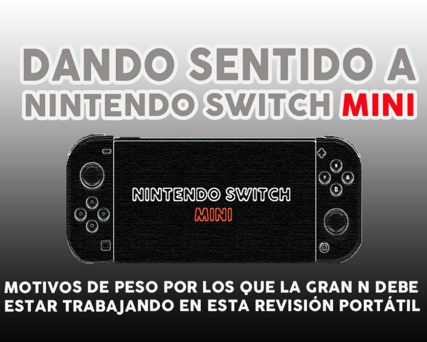Nintendo Switch Mini Portable