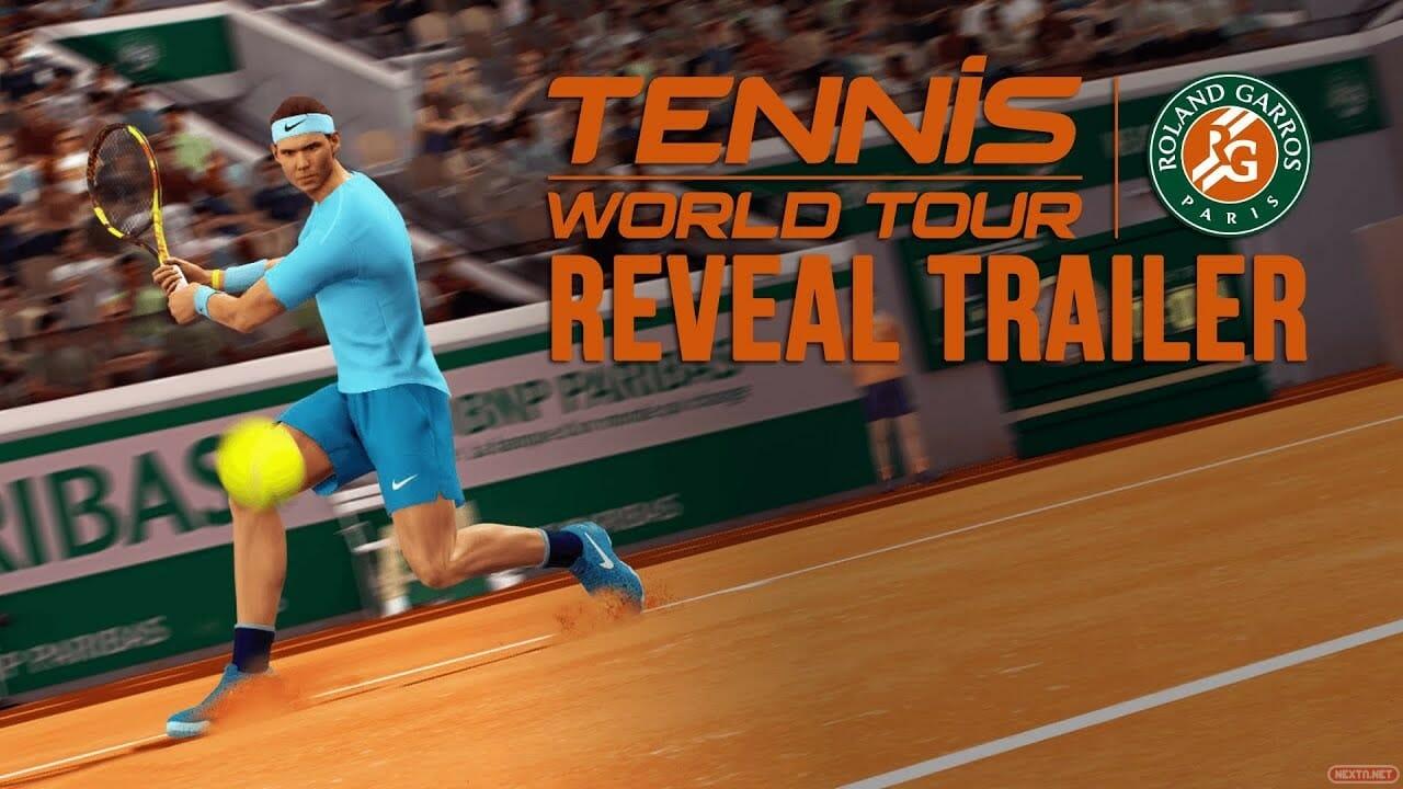 Tennis World Tour. Roland-Garros Edition Rafa Nadal