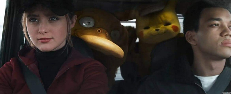 Psyduck y Pikachu en Detective Pikachu