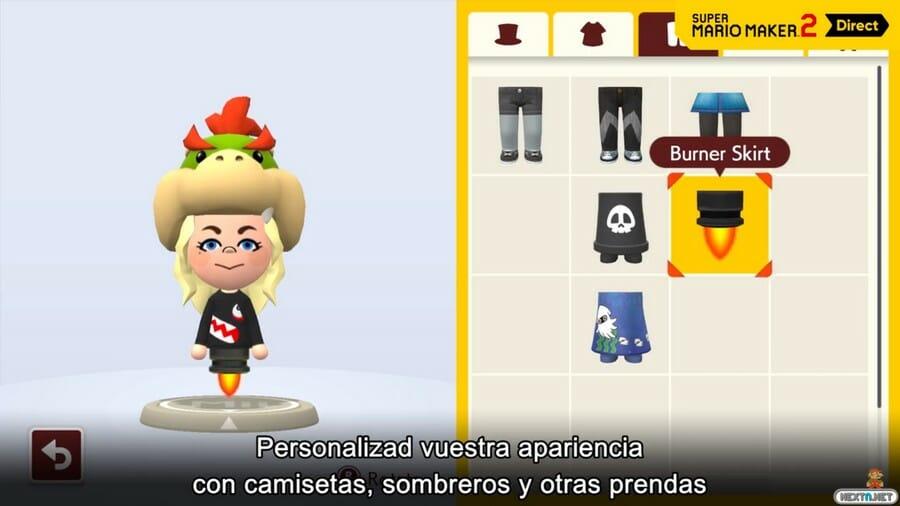 Super Mario Maker 2 Creadores