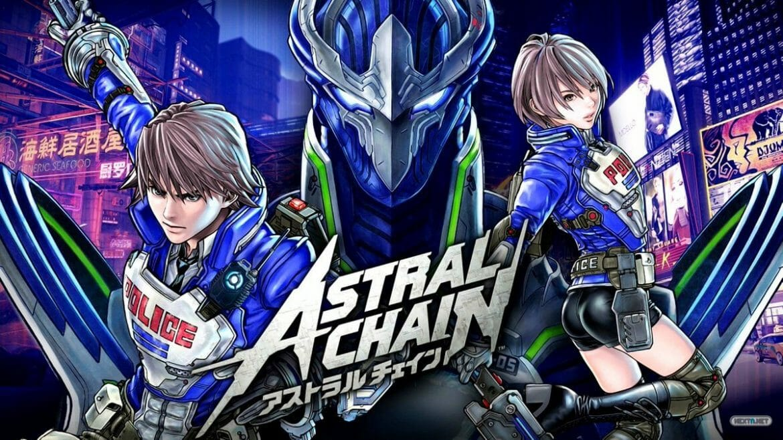 Astral Chain Nintendo Switch Artwork Logo
