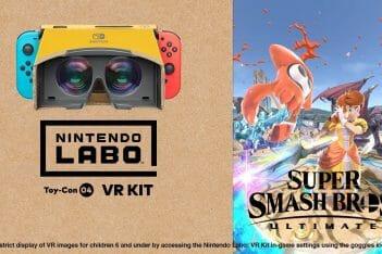 Nintendo Labo Kit VR Super Smash Bros. Ultimate
