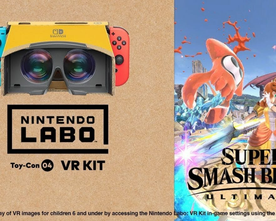 Nintendo Labo Kit VR Super Smash Bros. Ultimate