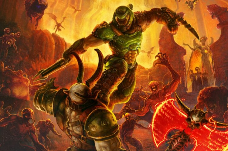 Doom Eternal artwork