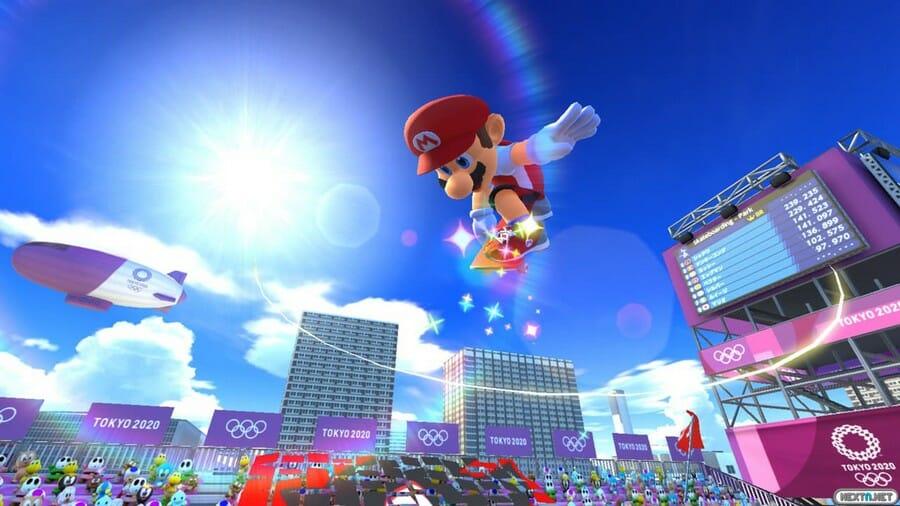 Mario y Sonic JJOO Tokio 2020