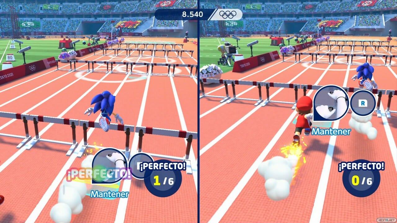 Mario & Sonic Juegos Olímpicos Tokio 2020