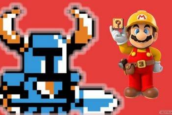 Super Mario Maker 2 Shovel Knight