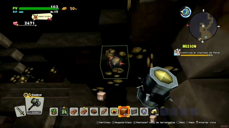 Análisis Dragn Quest Builders 2 Switch