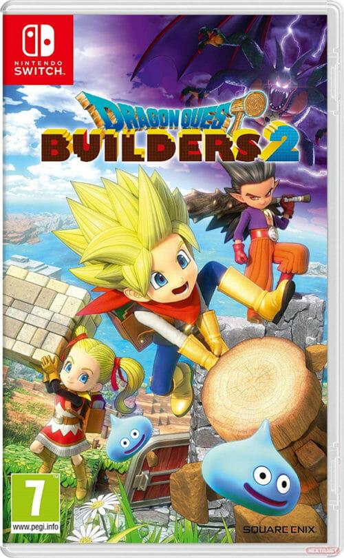 Dragon Quest Builders 2 boxart Switch