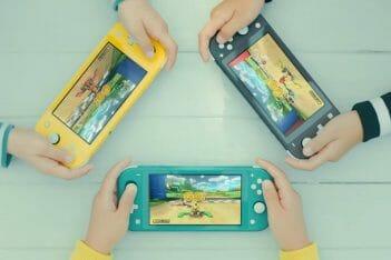 Nintendo Switch Lite Nuevo Comercial Tráiler