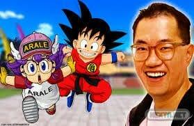 Akira Toriyama, Arale y Goku