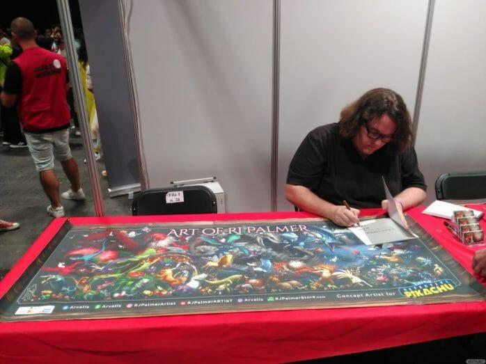 RJ Palmer firmando en la Japan Weekend