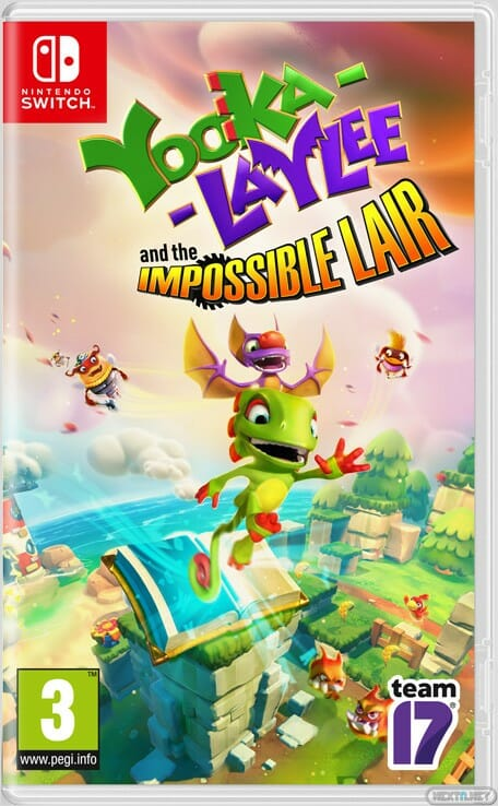 Yooka Laylee and the Impossible Lair Playtonic Switch