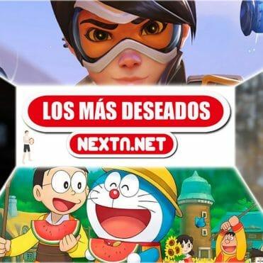 Los más deseados de NextN Octubre 2019 The Witcher 3 Luigi's Mansion Overwatch Doraemon Nintendo Switch