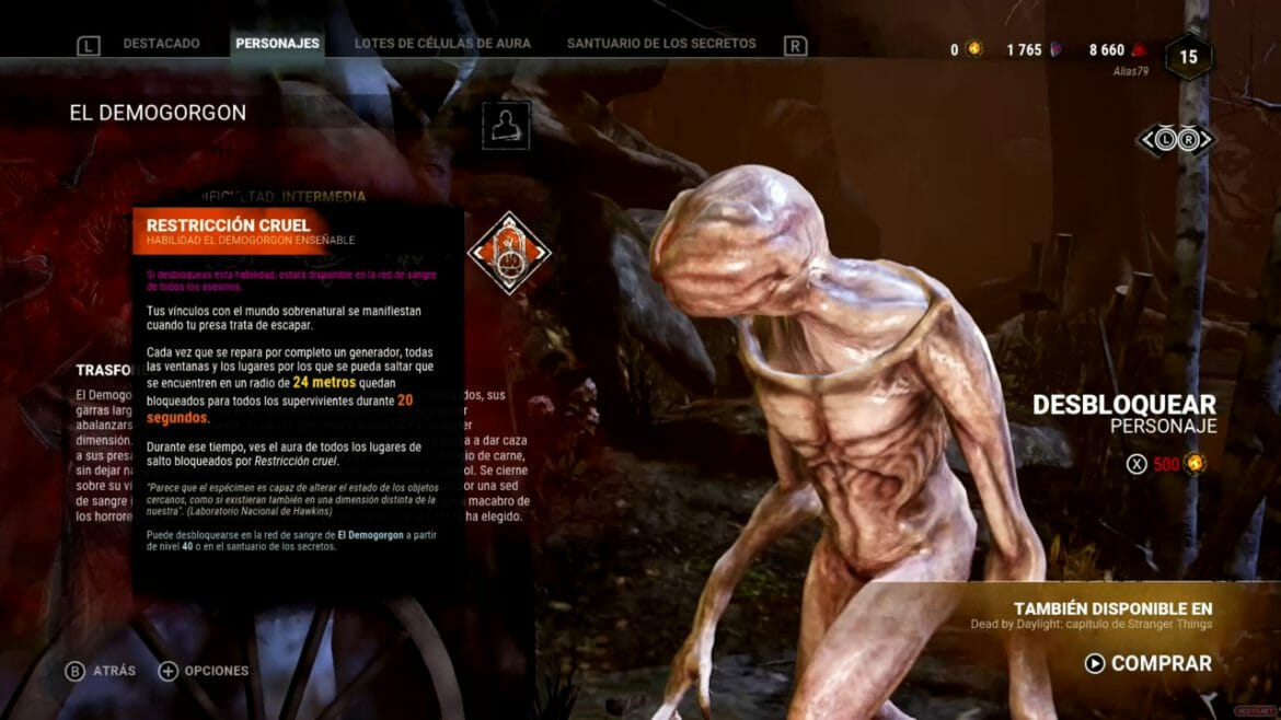 Análisis Dead by Daylight Stranger Things