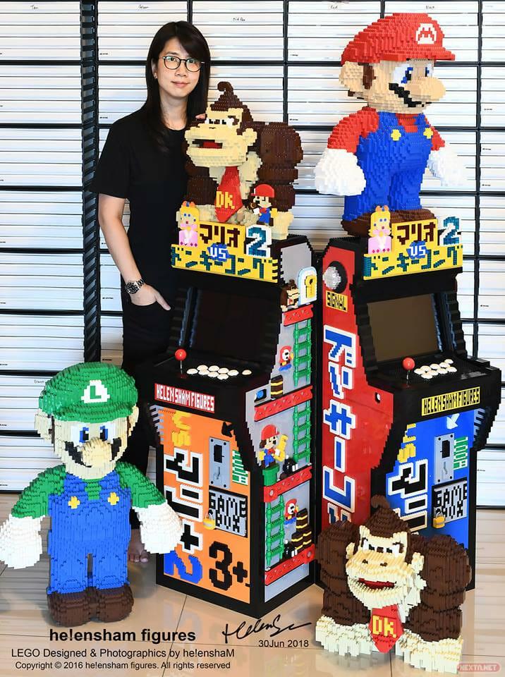 Mario vs. Donkey Kong 2 arcade LEGO