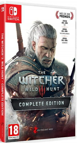 The Witcher 3 Wild Hunt - Complete Edition Switch boxart