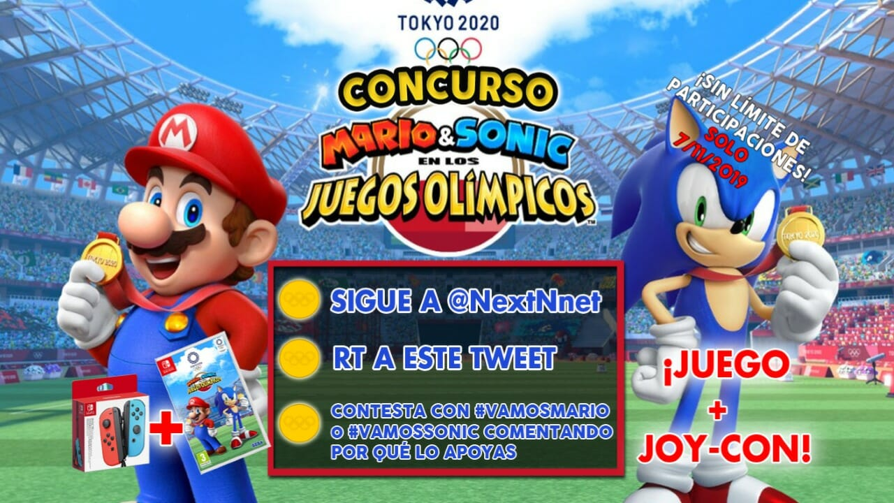 Concurso Mario & Sonic JJOO Tokio 2020