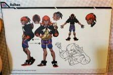 boceto personaje Pokémon Espada Escudo