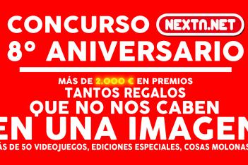 Concurso 8 Aniversario NextN #8AniversarioNextN