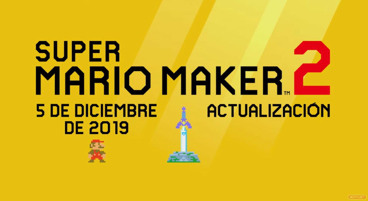 Super Mario Maker actualización 2.0