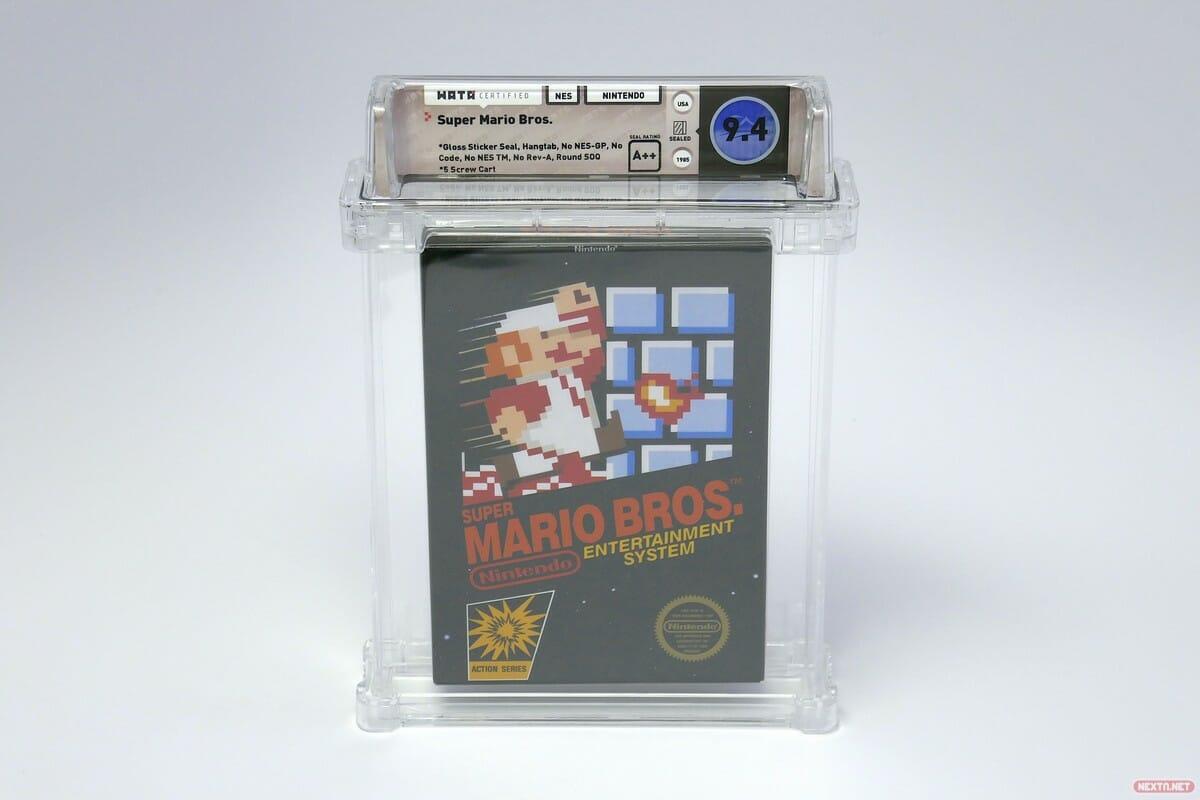 Super Mario Bros NES Récord