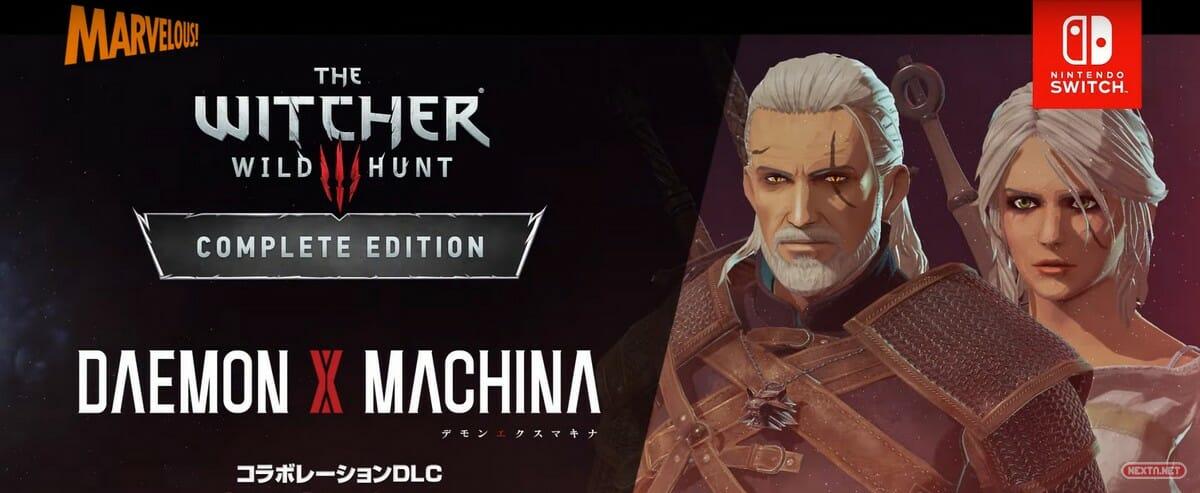 Daemon X Machina The Witcher 3