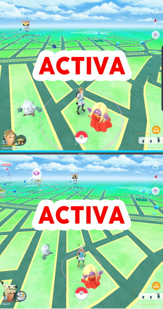 Pokémon GO tutorial Multi-Resume