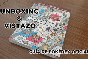 Guía Pokédex Oficial Galar Pokémon Espada y Escudo