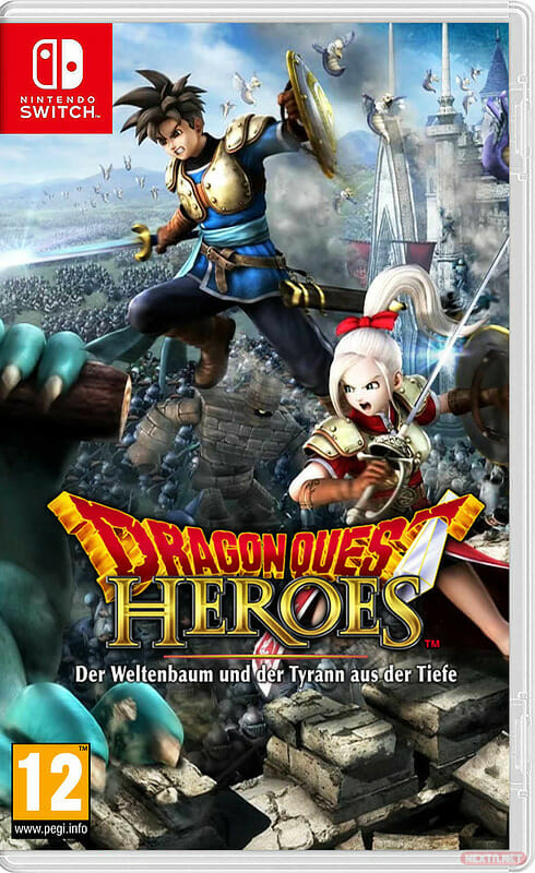 Dragon Quest Heroes I boxart Switch