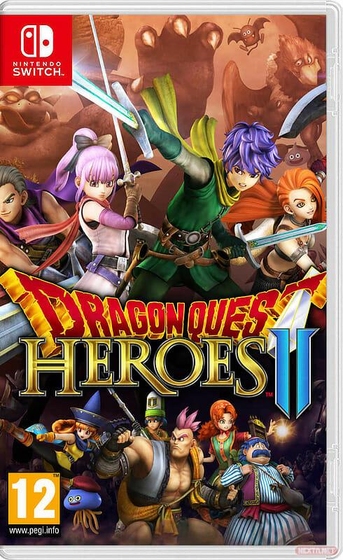 Dragon Quest Heroes II boxart Switch