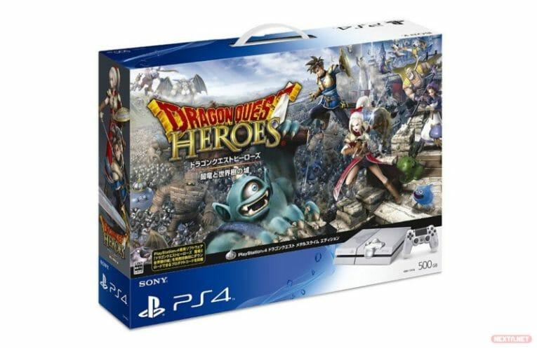 Dragon Quest Heroes PS4 pack limitado