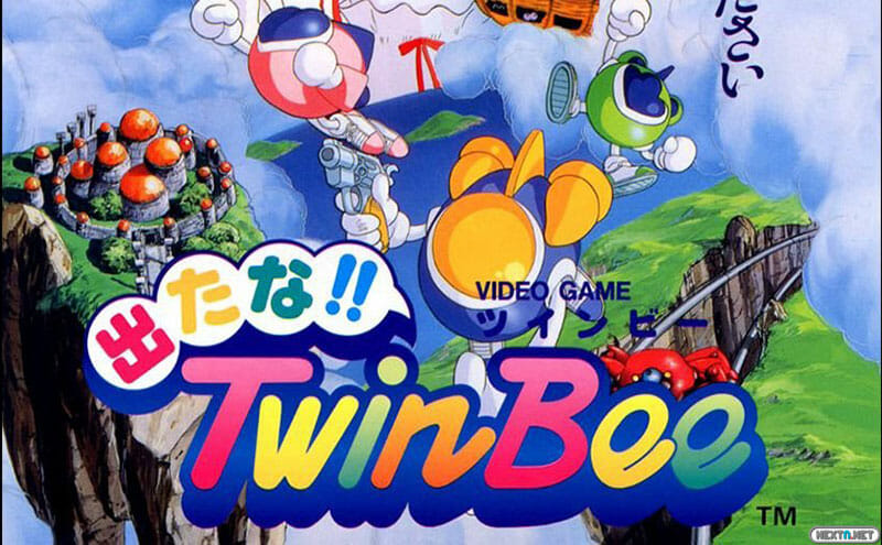 Detana!! Twin Bee Arcade Archives Switch