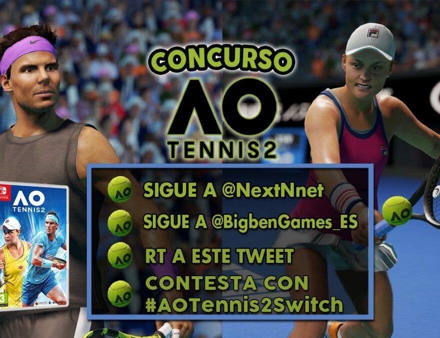 Concurso AO Tennis 2